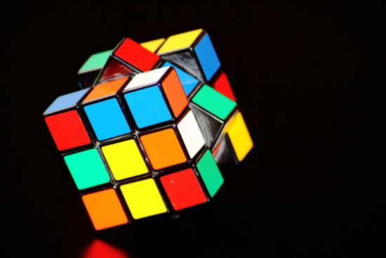 Colorful rubikscube