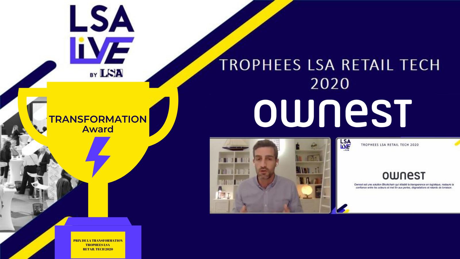 Ownest trophees retail tech live 2020